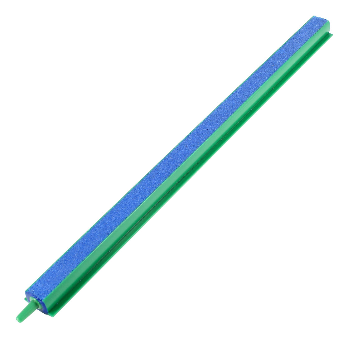 Plastique Vert Connecteur End Bleu Bulleur Barre 30cm pour Aquarium