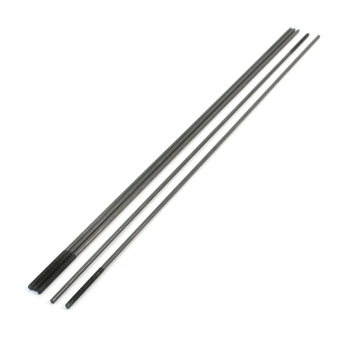 5Stück 30 x 3 mm einseitig Gewinde 30cm Lange Metall druckstäbe