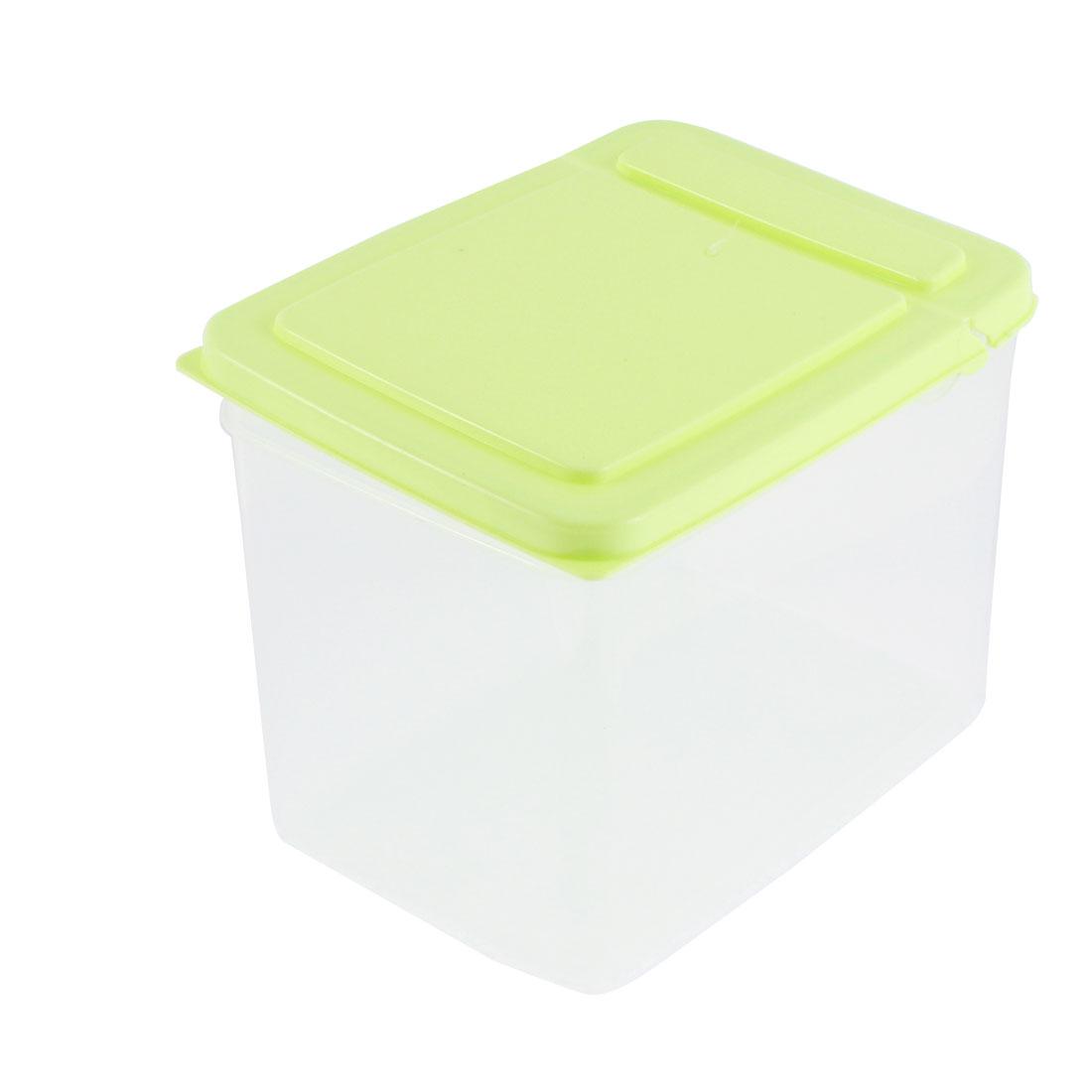 10cm-Altura-3L-Recipiente-de-Almacenaje-de-Comida-Domestico-Plastico