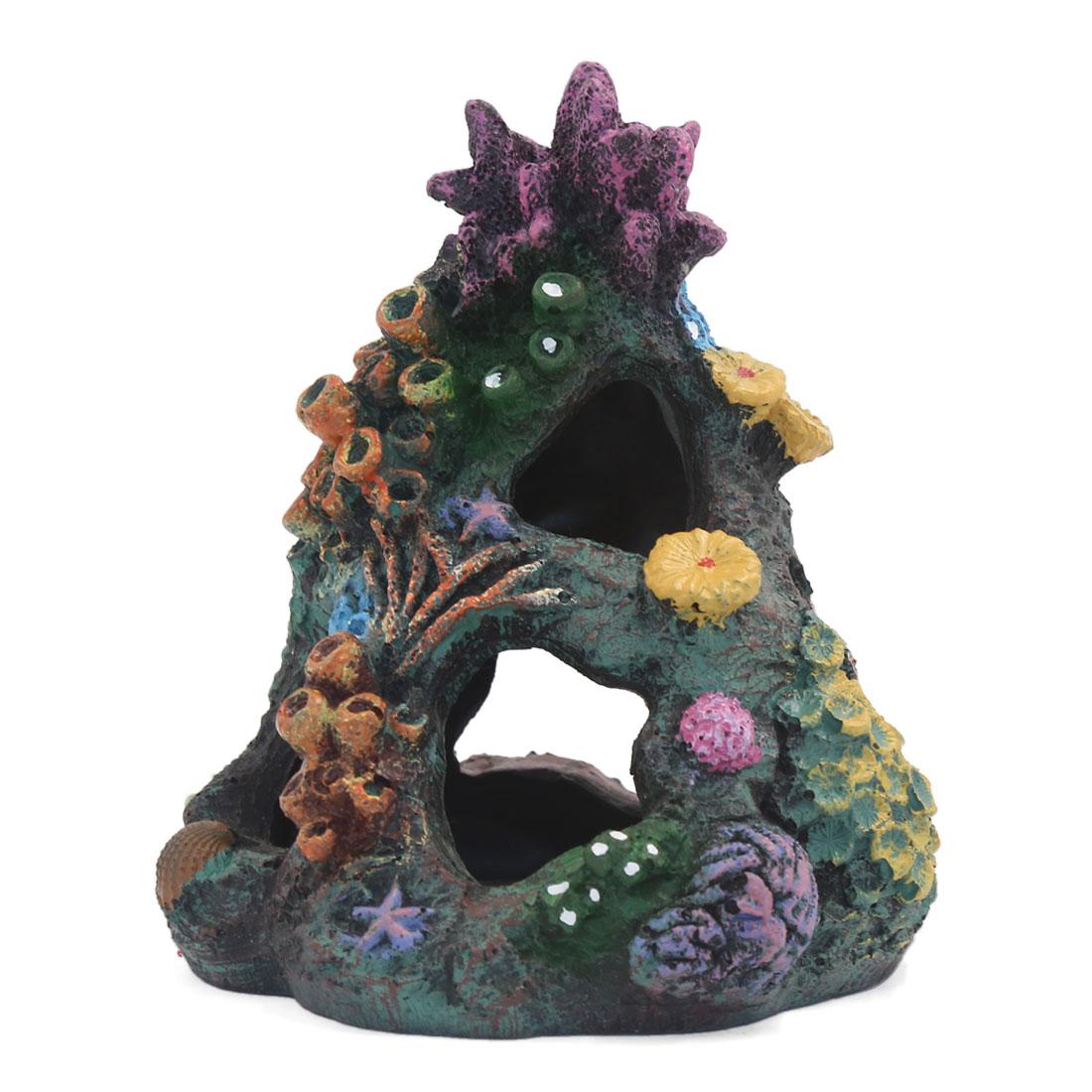 Paysage aquatique Rocaille artificielle Betta Bois Décoration d'aquarium 2