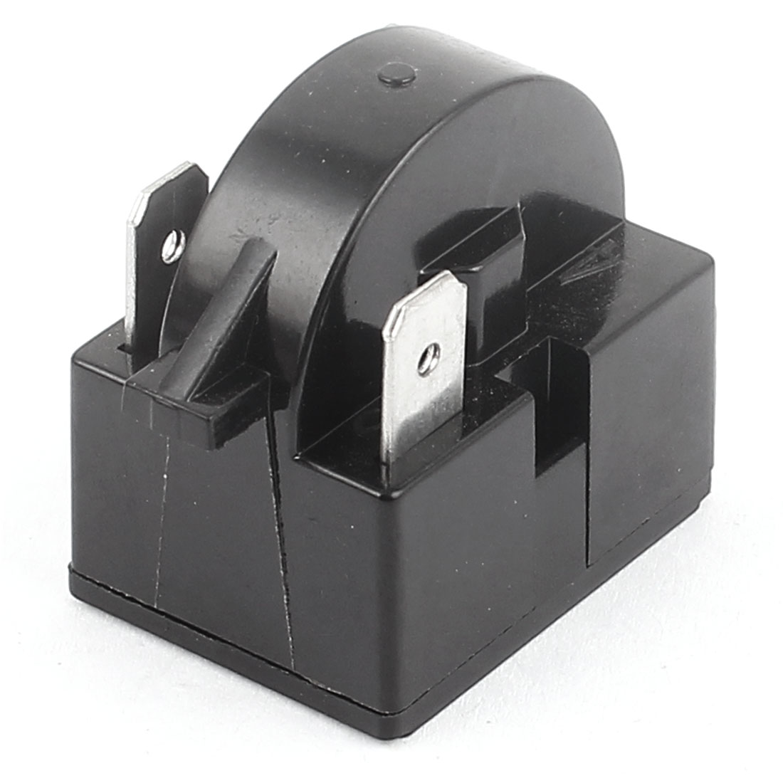 Black Plastic Shell 15 Ohm Resistance 3 Terminals Refrigerator PTC Starter Relay 2