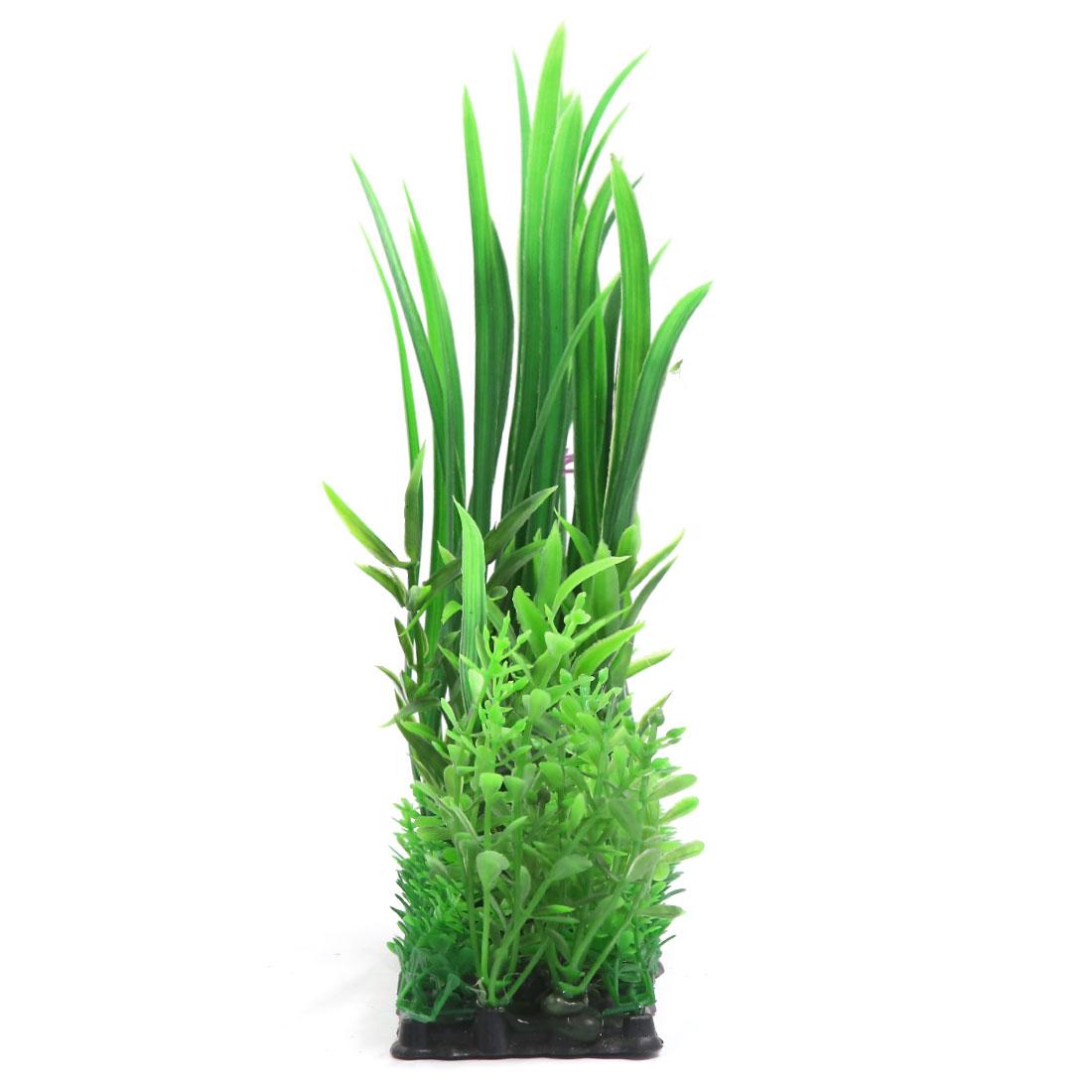 Vert Plante en plastique Décor d'aquarium pour Betta Poisson rouge 2