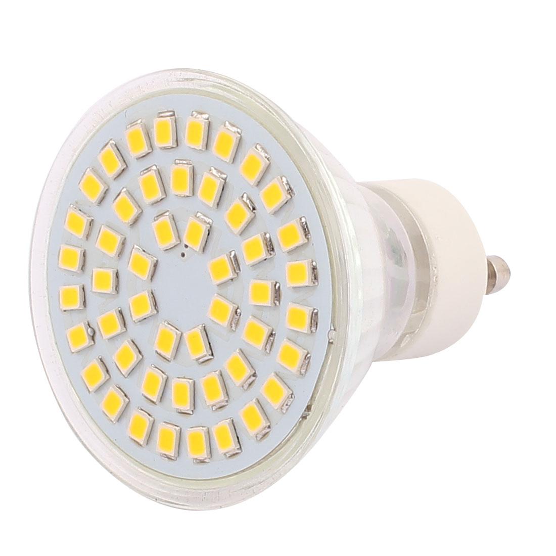 220V-GU10-LED-Light-4W-2835-SMD-48-LEDs-Spotlight-Lamp-Bulb-Lighting-Warm-White