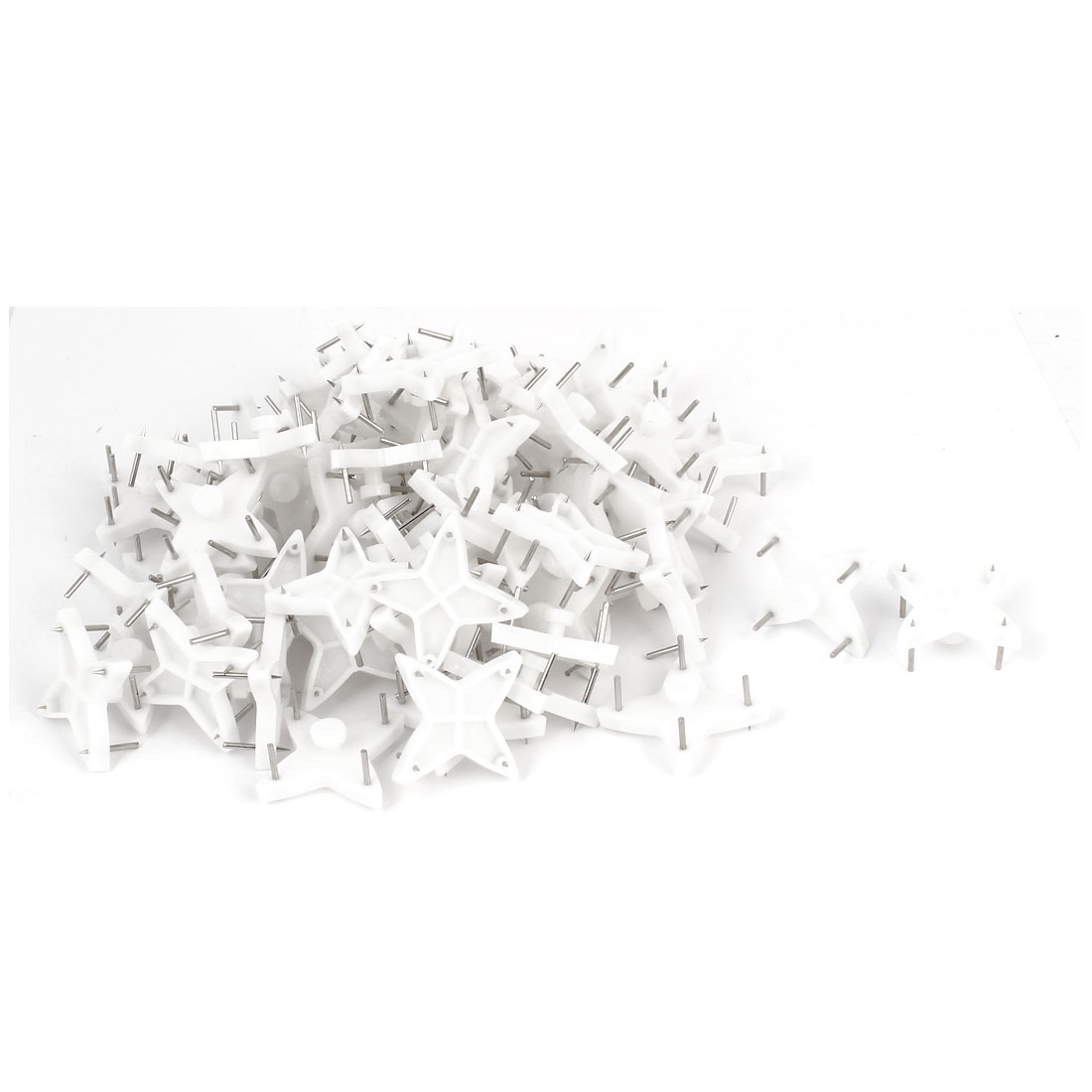 Home-Plastic-Wall-Hook-Hanger-Seamless-Nail-100pcs-for-Picture-Photo-Frame