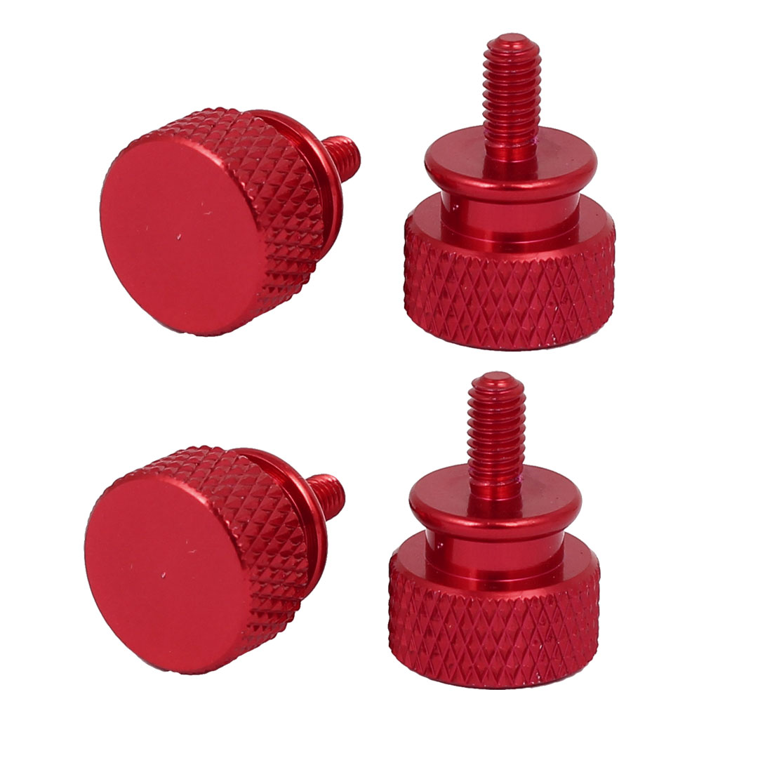 Computer-PC-Case-Aluminum-Alloy-Knurled-Thumb-Screws-M3x7mm-4pcs