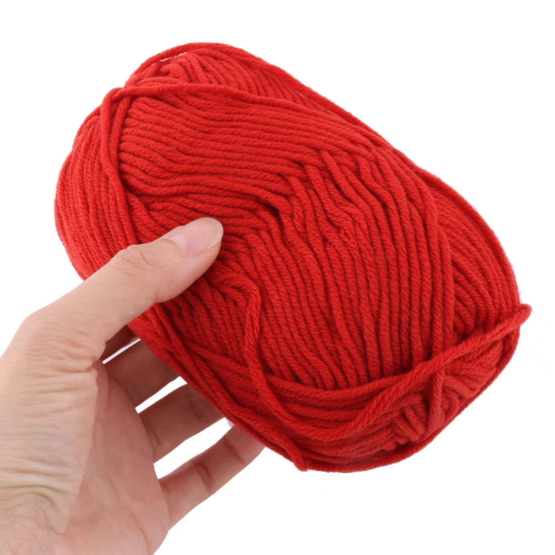 Gants-pull-Crochet-Artisanat-tissage-Fil-a-tricoter-2pcs-cordon-orange miniature 3