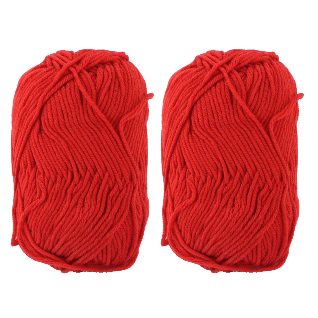 Gants-pull-Crochet-Artisanat-tissage-Fil-a-tricoter-2pcs-cordon-orange