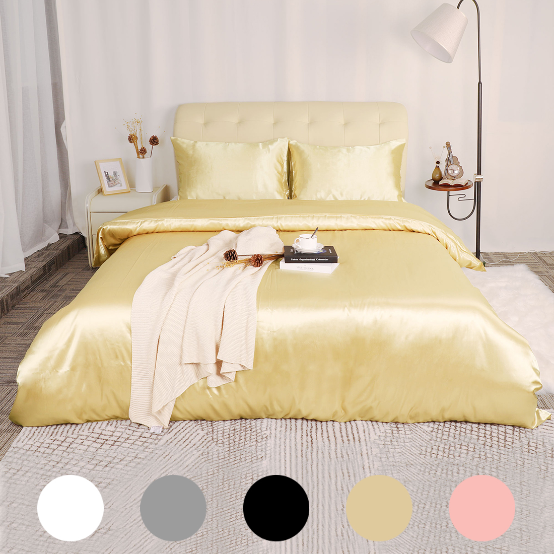 3-Piece-Home-Bedding-Satin-Silk-Duvet-Cover-Set-for-Comforter-Blanket-Three-Size