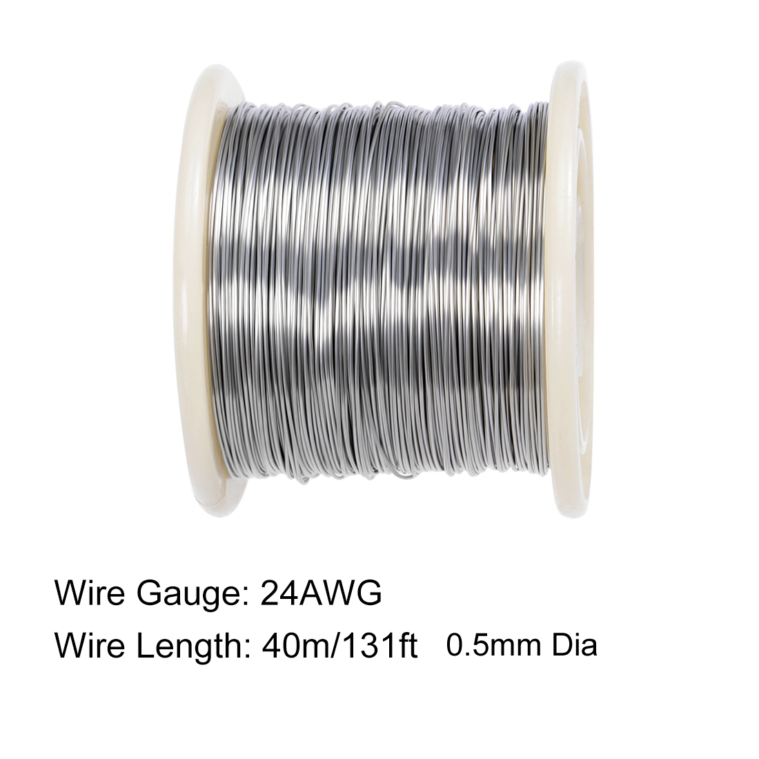 0-5mm-0-7mm-Dia-10-70M-Heating-Resistor-Wire-Nichrome-Wires-for-Heating-Elements thumbnail 4