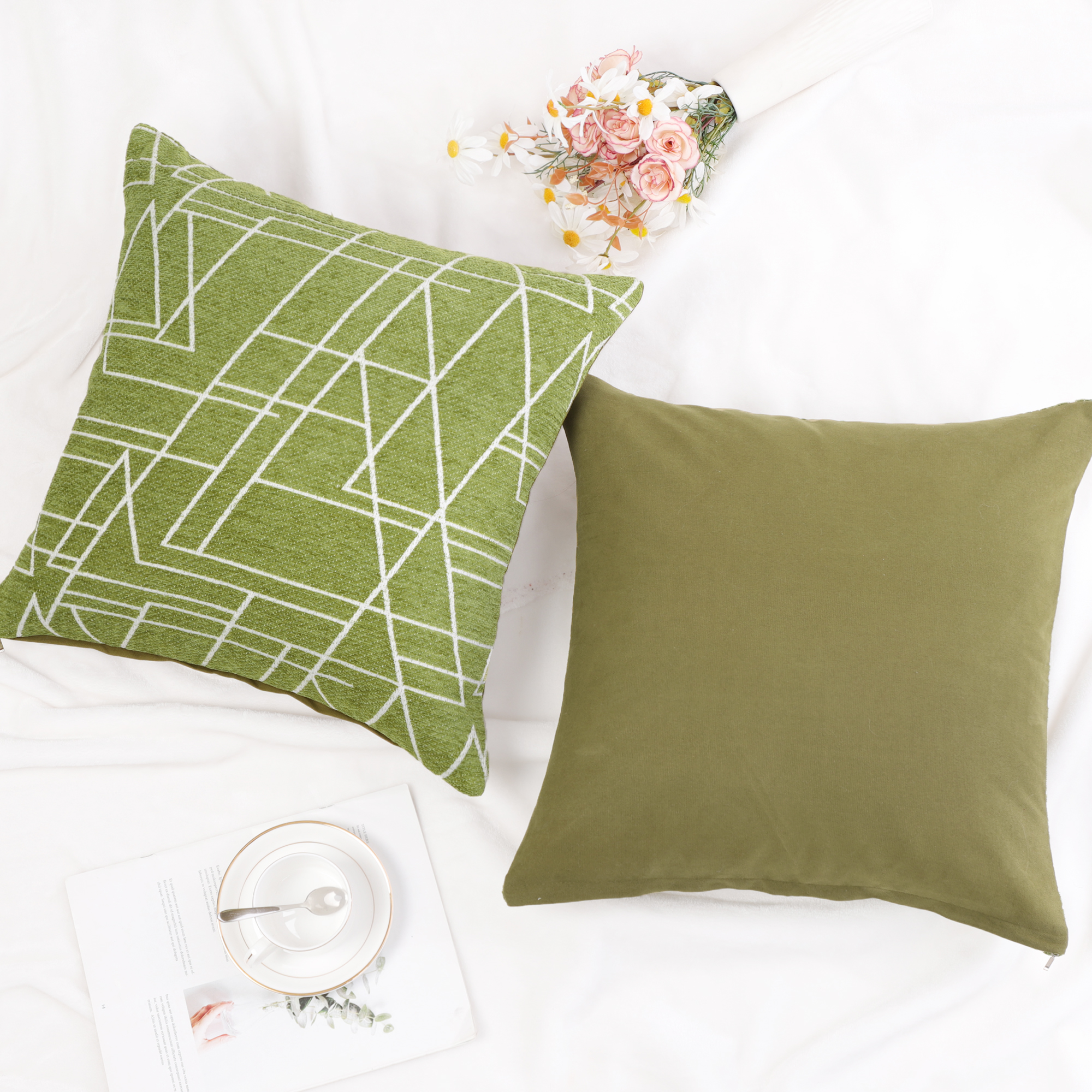 Decoration-Pillow-Covers-Cotton-Linen-Throw-Pillow-Case-Cushion-Cover thumbnail 53